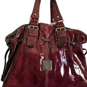 Dooney & Bourke Bags - Dooney and Bourke Burgundy patent leather purse!